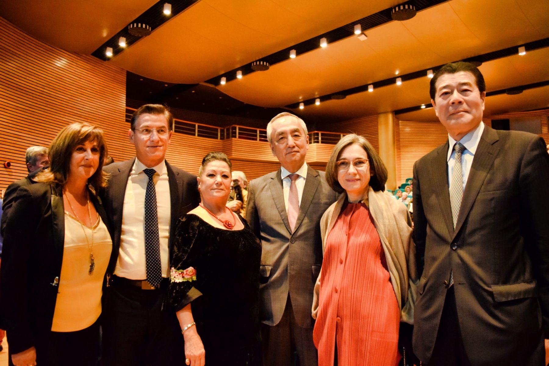 Embajador de Japón, Alcalde de Granada y Presidente de Casa Japón