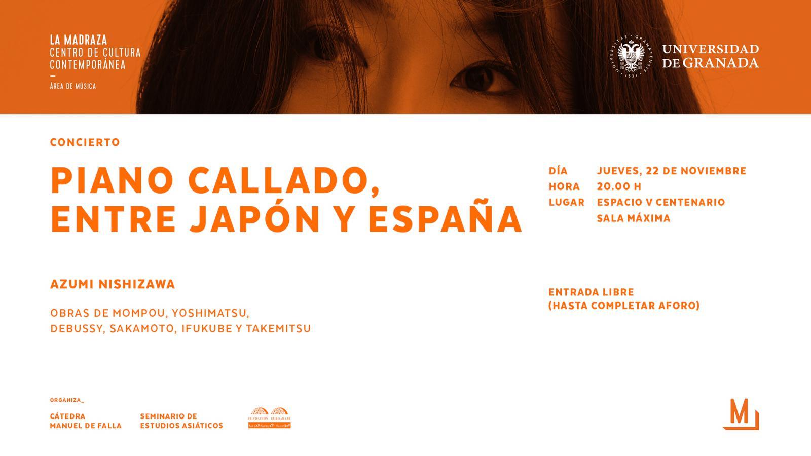 PIANO CALLADO, ENTRE JAPÓN Y ESPAÑA