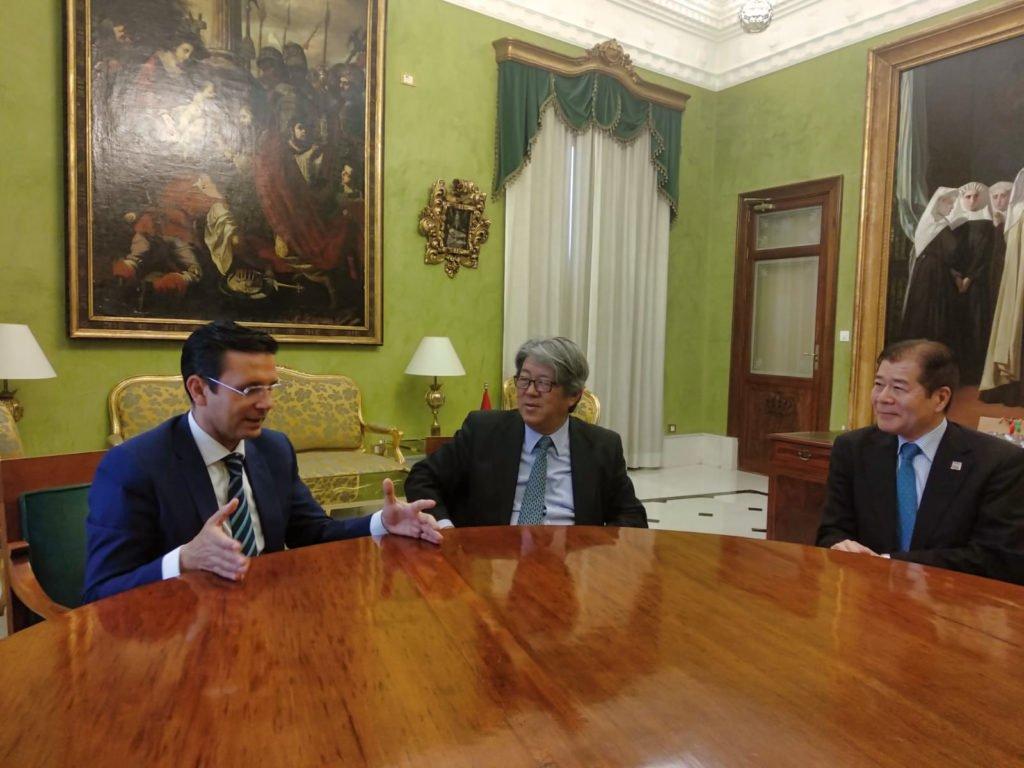 Embajador de Japón en España, Sr. Masashi Mizukami
