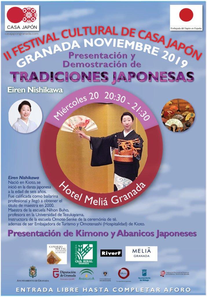 Presentación y Demostración de Tradiciones Japonesas 2019