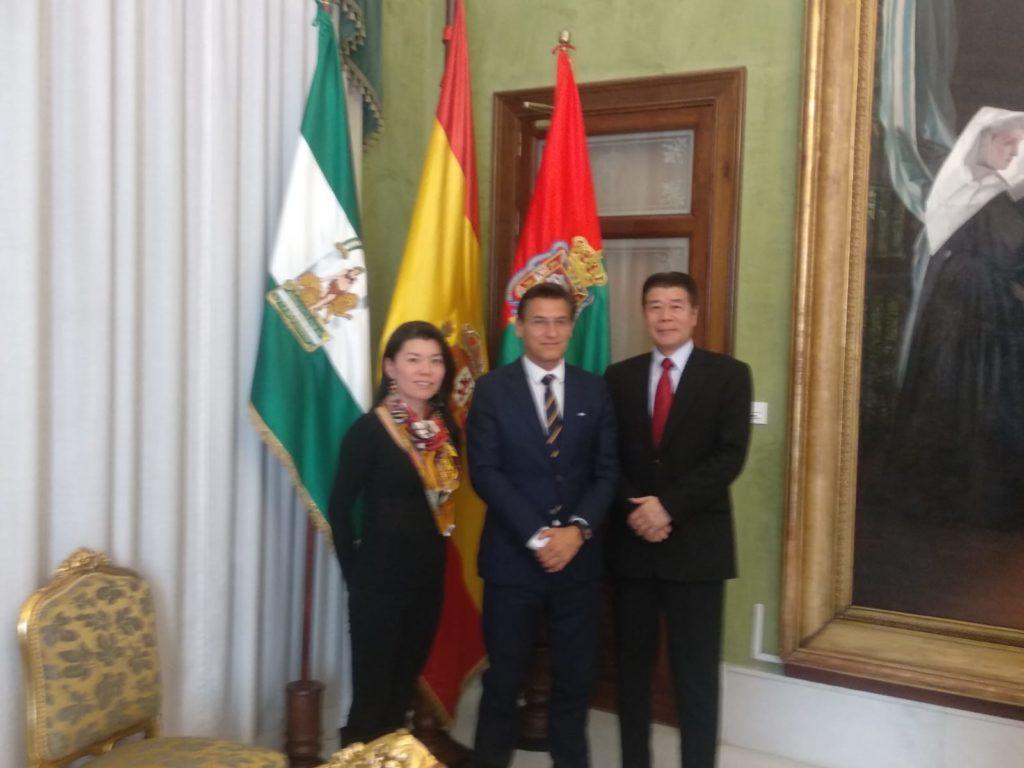 Visita oficial al Ayto. de Granada 2019